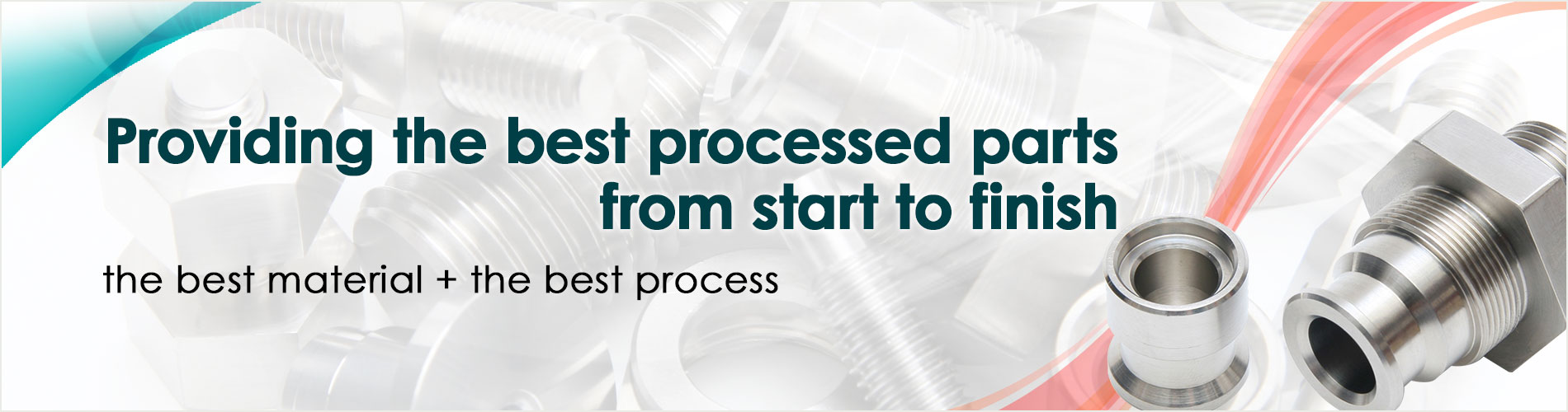 It is avalable that we make the parts processed one-stop.